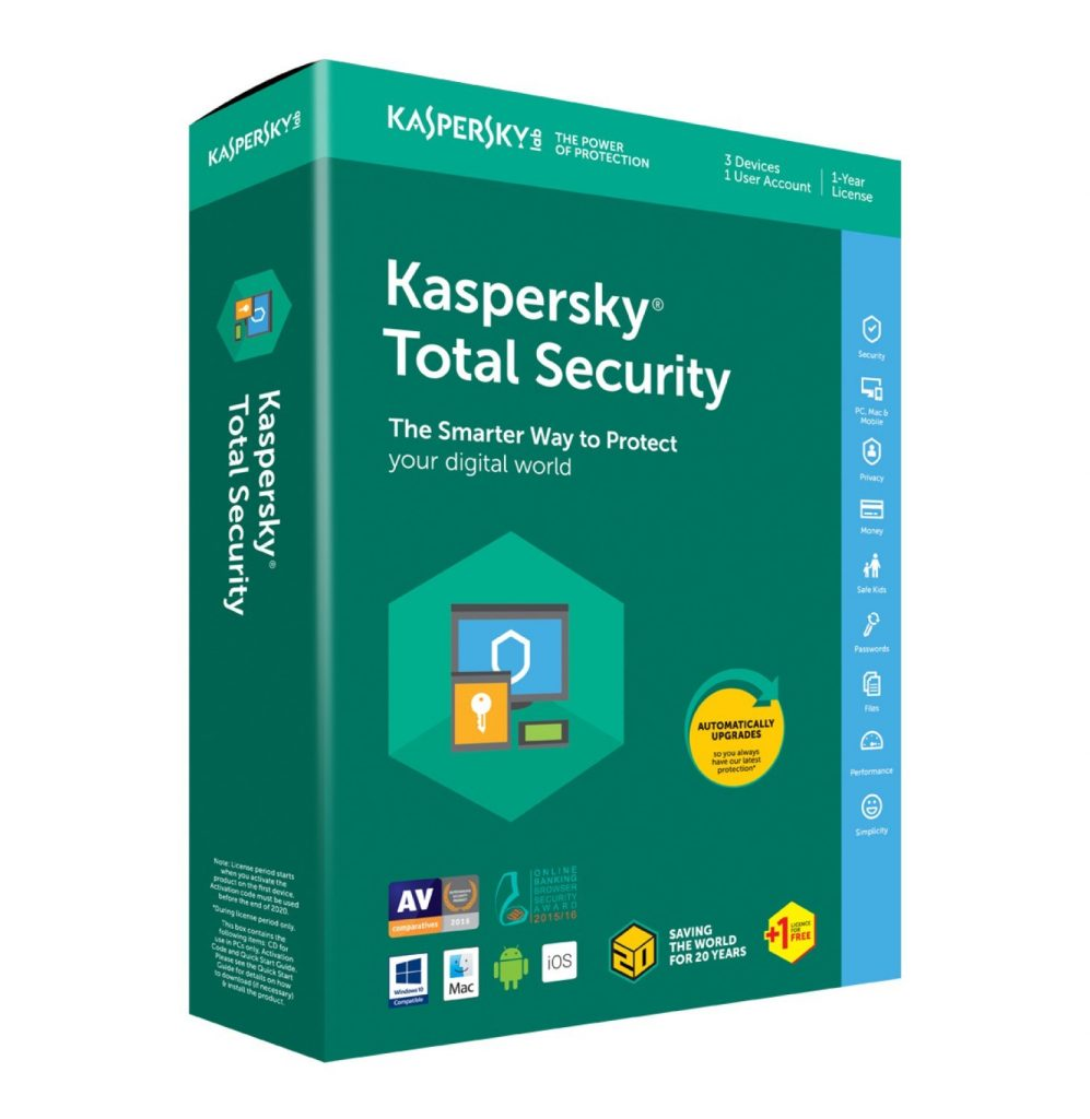 Kaspersky Total Security Crack 2020 With Activation Code