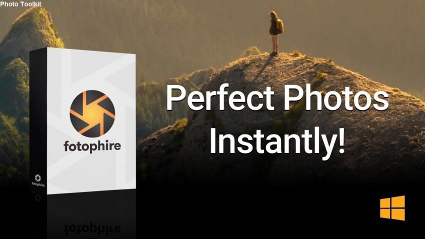 Wondershare Fotophire Photo Editor 1.8.6716.18541 + Crack Download