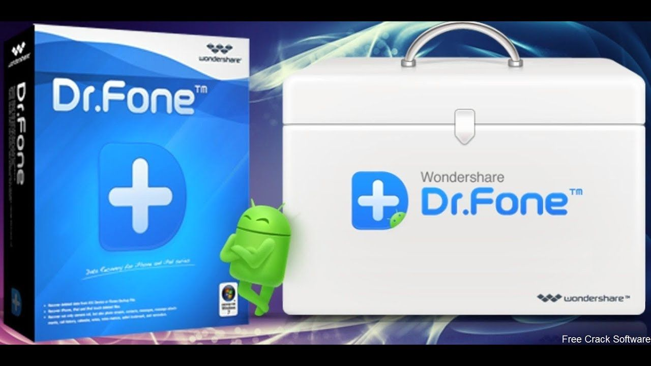 Wondershare Dr.Fone Crack