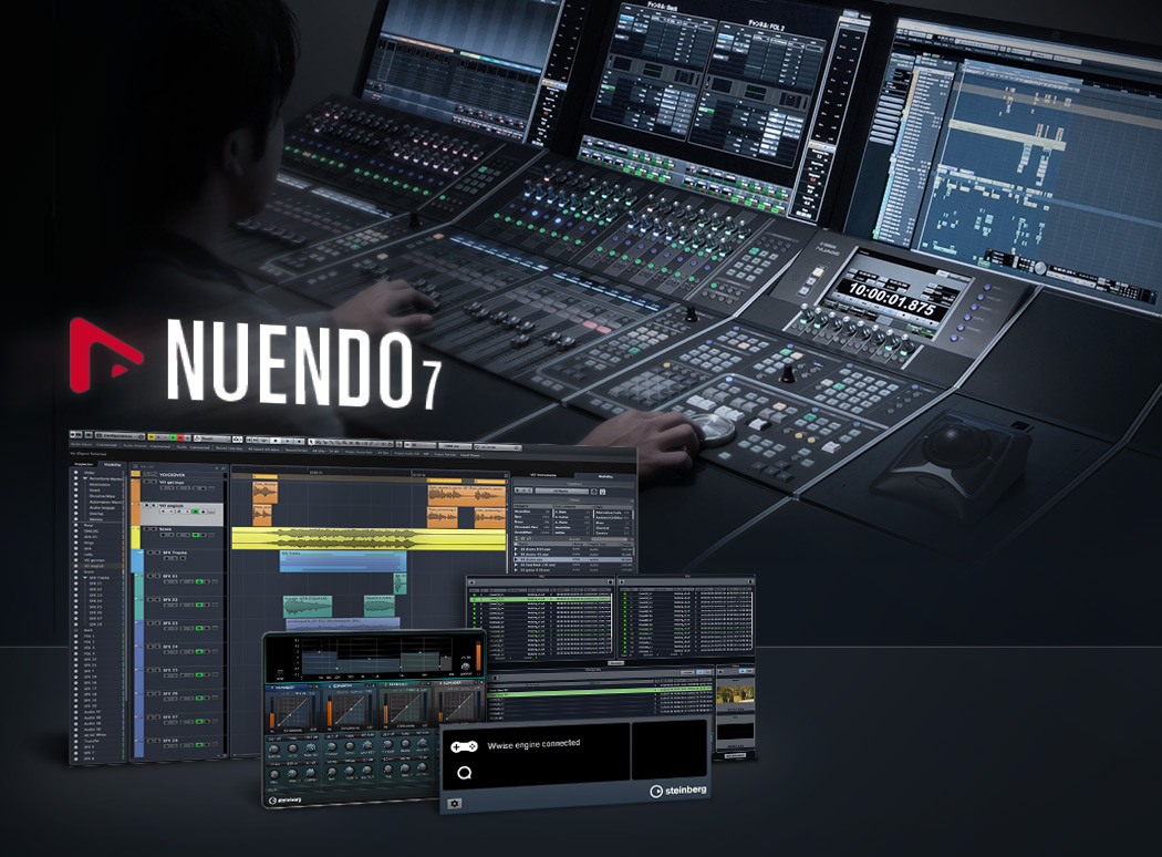 Steinberg Nuendo Crack 10.2 & Serial Keygen Latest 2020